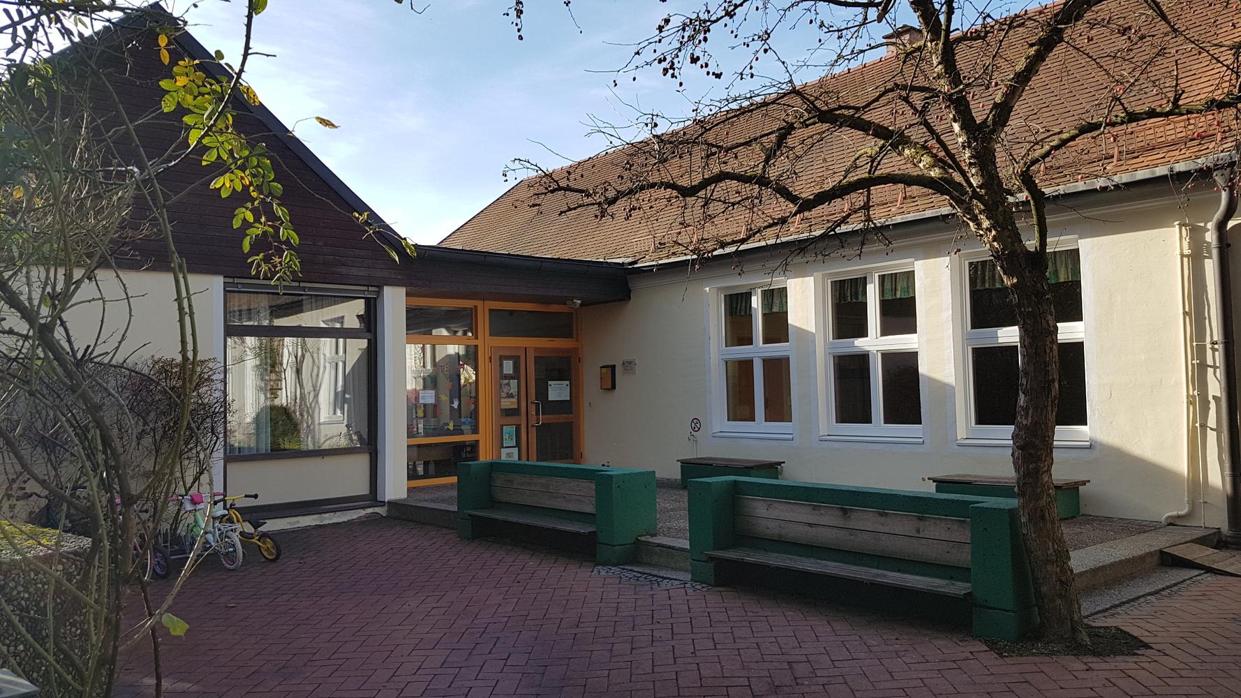 Kindergarten Eingang
